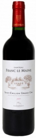 Saint-Émilion Grand Cru Rouge, Château Franc le Maine (Vignoble Anney)