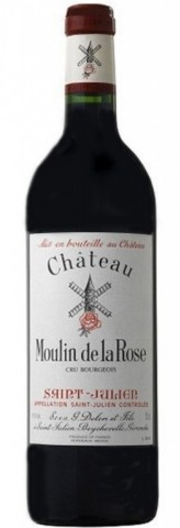 Saint-Julien Rouge, Château Moulin de la Rose (Vignoble Anney)