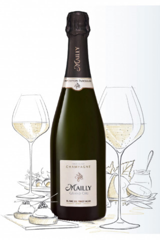 Champagne  Blanc, Champagne Blanc de Pinot Noirs (Champagne Mailly Grand Cru)