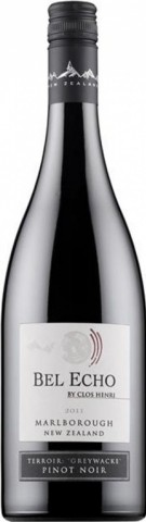 Marlborough Rouge, Bel Echo Pinot Noir  (Domaine Henri Bourgeois)