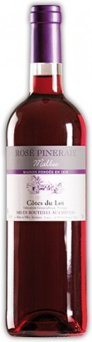 Côtes du Lot Rosé, Rose Pineraie (Vignoble Burc)