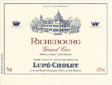 Richebourg Rouge, Richebourg Grand Cru (Maison Lupé Cholet)