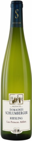 Riesling Blanc, Riesling Les Princes Abbes  (Vignoble Schlumberger)