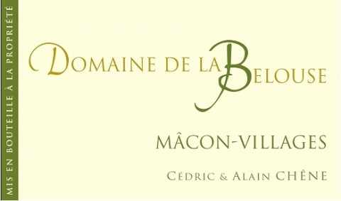 Macon Villages  , Macon-Villages La Belouze (Société des Vins de Pizay)